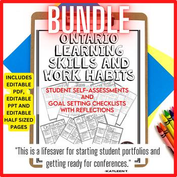 Student Self Assessment Checklist Worksheets TpT