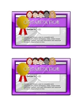 Learning Skills and Work Habits (MINI-CERTIFICATES)