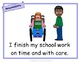 Learning Skills and Work Habits Posters - 69 pages