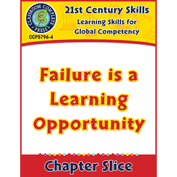 Learning Skills for Global Competency: Failure is a Learning Opportunity Gr.3-8+