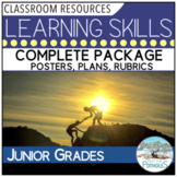 Learning Skills package - long range plans, posters, assessment sheets