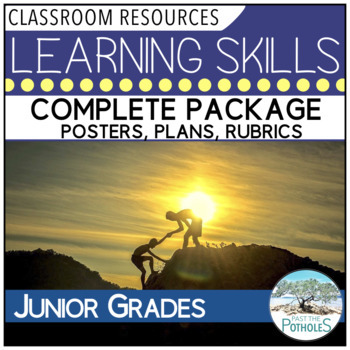 Learning Skills package - long range plans, posters, asses