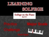 Learning Solfege - Ear Training -- On the Piano