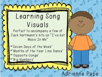 Learning Song Visuals: 100s, Days, Months, Opposites