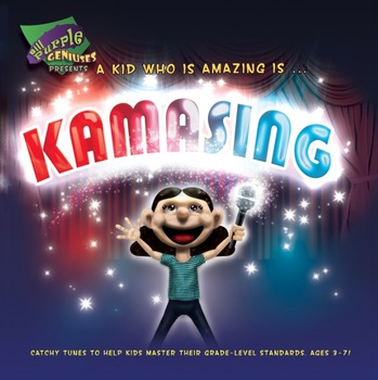 Learning Songs Series For Kids! It's Ka'mazing! State & Globally Aligned.