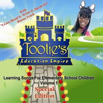 Learning Songs for Elementary School Children Volume 1, Sp