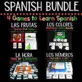 Learning Spanish Bundle - 4 Fun Spanish Games