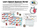 Learning Spanish Question Words! (Spanish Interrogatives G