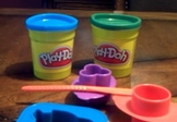 """Learning Spanish """"shapes"""" vocabulary with Play-doh"""