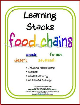 Food Chains Learning Stacks