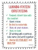 Learning Station Expectations Poster