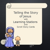 Learning Station Story of Jesus Scroll Cards