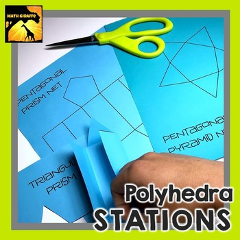 Polyhedra Stations: Characteristics of 3D Shapes