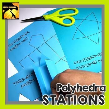 Polyhedra Stations: Characteristics of 3D Shapes