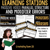 Learning Stations: Passive Voice, Faulty Parallel Structure & Modifier Errors