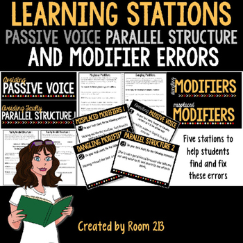 Learning Stations: Passive Voice, Faulty Parallel Structur