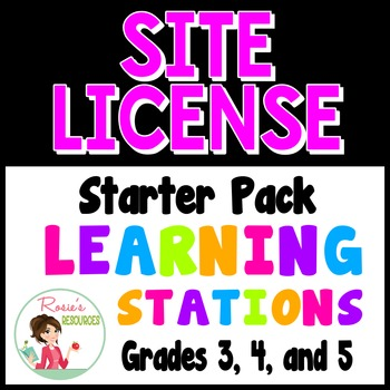 Learning Stations Site License