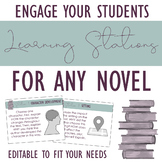 Learning Stations for ANY Novel: Engaging Literary Analysis!