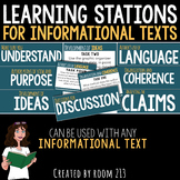 Learning Stations for Any Informational Text