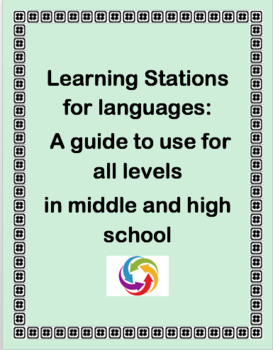 Learning Stations for Languages: a guide