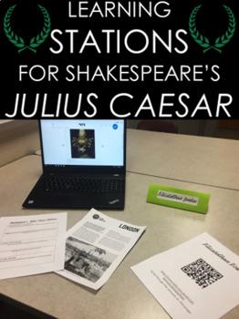 Learning Stations for Shakespeare's Julius Caesar