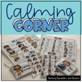 Calming Corner Feelings and Calming Strategies