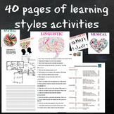 Learning Style Activities for Differentiated Instruction (English)