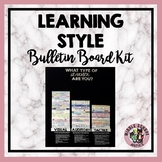 Back to School Learning Style Bulletin Board Kit
