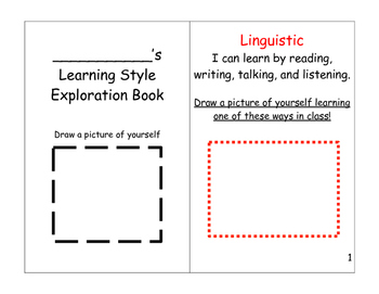 Learning Style Exploration Book