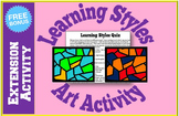 Learning Styles Art Activity for Back to School