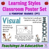 Learning Styles Classroom Posters (Multiple Intelligences)