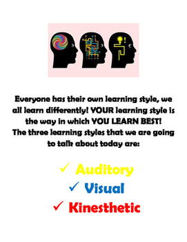 Learning Styles Hand Out