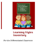 Learning Styles Inventory for the Differentiated Classroom