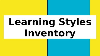 Learning Styles Lesson (Slides)