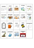 Learning Styles Matching Activity - Visual, Audio, Read/Wr