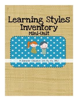 Learning Styles Mini-Unit