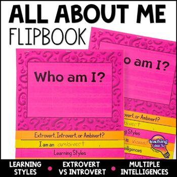 Learning Styles, Multiple Intelligence & Left Right Brain Flap Book  Icebreaker