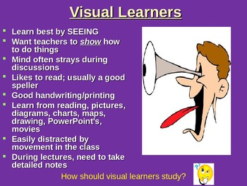 Learning Styles PowerPoint and Survey