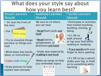 Learning Styles Quiz (Editable Format)