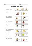 Learning Styles Survey - Kindergarten Friendly!