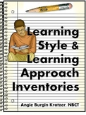 Learning Style & Learning Approach Inventories