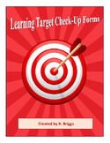 Learning Target Check-Up Forms