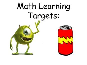 Differentiated Learning Target Checklists (*Editable)