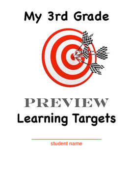 learning target cover sheets k 5 bundle by margaret mcillwain tpt