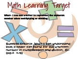 Learning Target-Engage NY, Grade 3, Module 3, Lesson 11