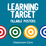 Learning Target Fillable PDF Posters