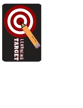 Learning Target Graphic