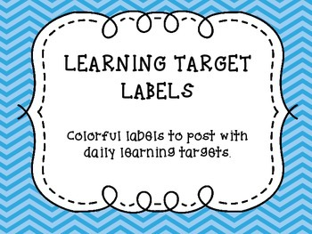 Learning Target Labels