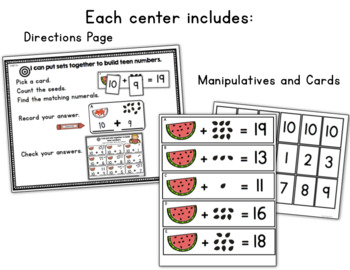 Learning Target Math Centers: BUNDLE