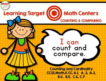 Learning Target Math Centers: Counting and Comparing